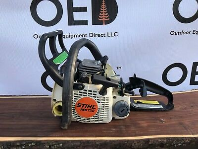 Stihl MS170 Chainsaw - OEM 31.8cc /  Repairs Needed / Parts Saw - Ships Fast