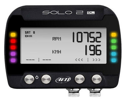Aim Solo 2 Dl Obdii Gps Lap Timer & Data System Brand New Free Shipping!