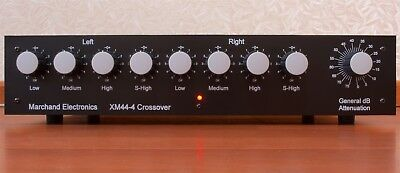 "Crossover Filtre Actif Marchand XM44/4 ""Audiophile edition""."