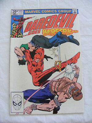 Daredevil #173 -  Aug 1981 -  Kingpin  - Frank Miller Pence Copy - Marvel Comic