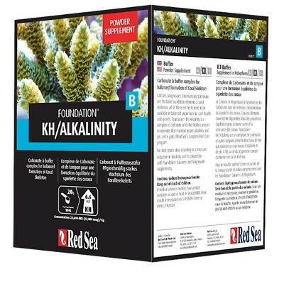 RED SEA REEF FOUNDATION B 1KG Buffer Powder Supplement