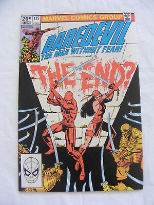 Daredevil #175 -  Oct 1981 -  Kingpin  - Frank Miller Pence Copy - ELEKTRA