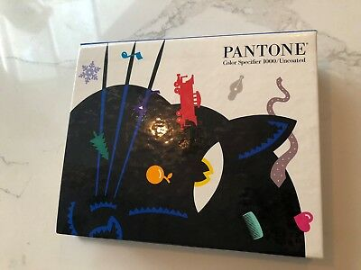 Pantone Color Specifier 1000 / Uncoated Spiral Bound Library Graphic Arts Book