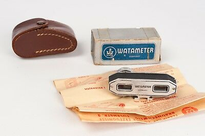Watameter Super camera rangefinder made in Germany in feet