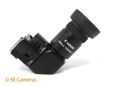 Canon Angle Finder C With Adapter Ec-C *excellent Condition*