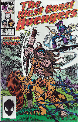 WEST COAST AVENGERS #4 Jan 86