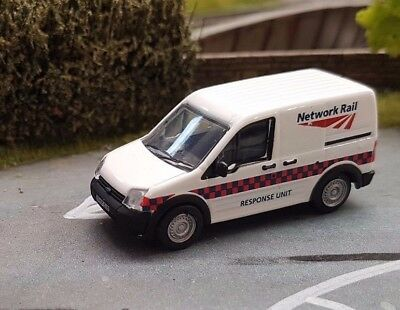 Oxford Diecast 1:76 Ford Transit Connect Network Rail - 76FTC002