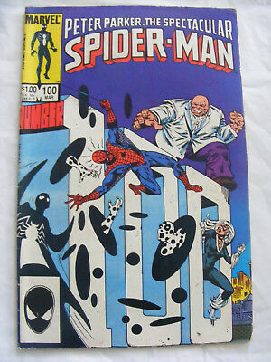 Peter Parker The Spectacular Spider-Man # 100 Mar 85 Marvel Comics
