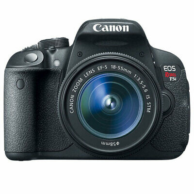 Canon EOS Rebel T5i 18.0 MP CMOS DSLR Camera with 18-55mm EF-S IS STM Lens