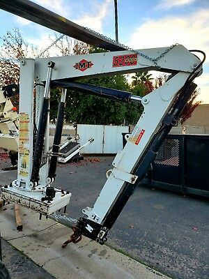 IMT 5200 articulating crane, 40',  8300lbs, great working condition