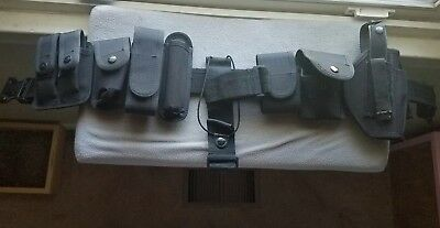 Used Police Duty Belt w/accessories