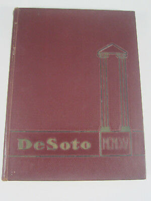 1965 Memphis State University UofM College Yearbook Annual DeSoto