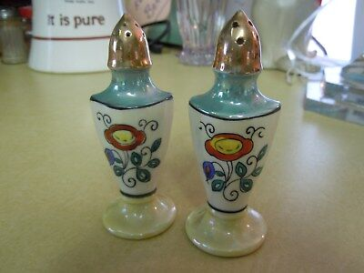 Antique  Salt & Pepper Shakers - See Photos For Style And Condition