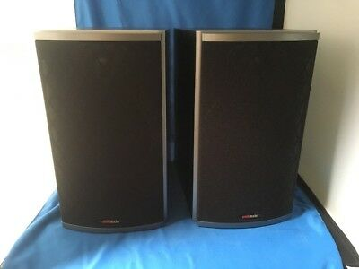 Polk Audio RTi4 Pair Bookshelf Speakers Black Ash GREAT CONDITION