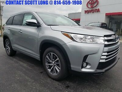 2018 Toyota Highlander New Highlander XLE AWD Navigation Heated Leather New 2018 Highlander XLE AWD Navigation Heated Leather Sunroof Rear Backup Camera