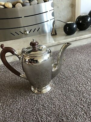 """Lovely Vintage Solid Silver """"Mappin & Webb """" Coffee Pot"""