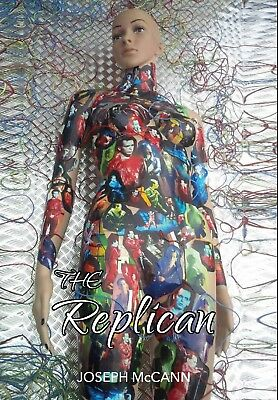 The Replican, A Gary Numan inspired book Sci Fi Horror novel by Joseph McCann