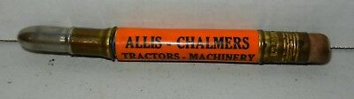Vintage Allis Chalmers Tractors Machinery Advertising Bullet Pencil Jonestown PA