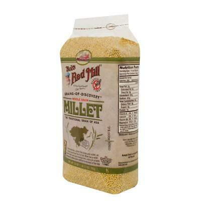 Bob's Red Mill-Gluten Free Hulled Millet (4-28 oz bags)
