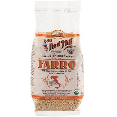 Bob's Red Mill-Organic Farro (4-24 oz bags)