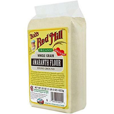 Bob's Red Mill-Organic Amaranth Flour (4-22 oz bags)
