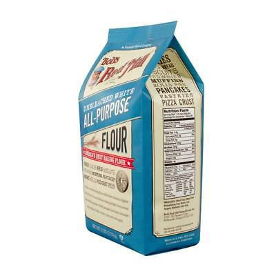 Bob's Red Mill-Unbleached White Flour (4-80 oz bags)