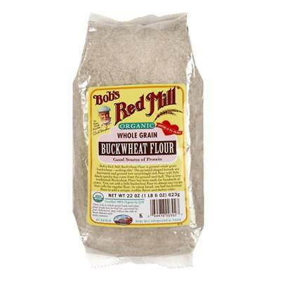 Bob's Red Mill-Organic Buckwheat Flour (4-22 oz bags)