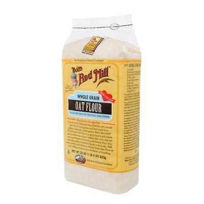 Bob's Red Mill-Whole Grain Oat Flour (4-22 oz bags)