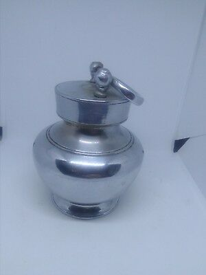 Rare Antique Travelling Flask Cup camping  military Georgian Victorian hunting