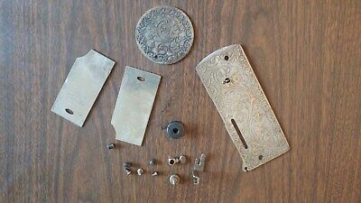 Vintage 1912 Singer 27 Sewing Machine FACEPLATE & Much More!!!!