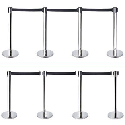 2Pcs Heary Duty Base For Queue Crowd Barriers Crowd Control Post Belts Bases