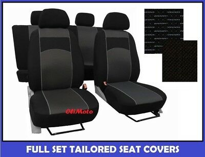 Fabric Tailored Full Set Seat Covers For Nissan Qashqai 2007 - 2013