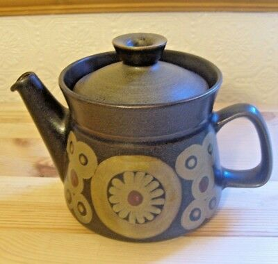 Denby Arabesque Pattern  Tea Pot & Lid
