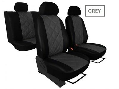 Eco-Leather Tailored Full Set Seat Covers for Nissan Qashqai 2007 - 2013