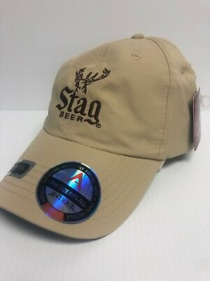 *NEW with TAGS* Stag Beer Hat - Deer Logo (Performance/Dri-Fit)