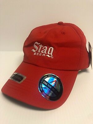 *NEW with TAGS* Stag Beer Hat - Beer Logo (Performance/Dri-Fit)