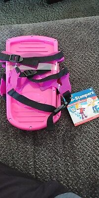 IDEAL Sno-Stompers by Alex Brands - 5+ - Fits Shoe To Size 5 - Brand New