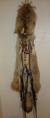 Coyote Hide Bag by Angela Blue Cougar - Native American