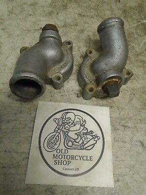 1974 Suzuki Gt750 Water Buffalo Lemans Thermostat Housing With Vapour Plug