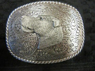 Handsome Irish Wolfhound Belt Buckle-Man Or Woman-One Of A Kind