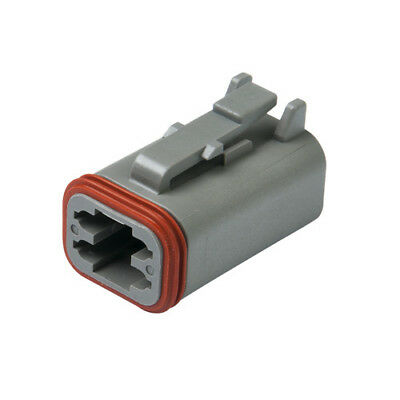 DEUTSCH DT06-4S DT Series 4-Way Plug