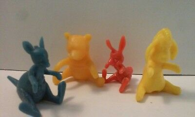 1965 WINNIE the POOH BREAKFAST BUDDIES NABISCO CEREAL SPOON SITTER WHOLESALE LOT