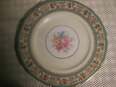 Antique  PAINTED PLATE BY ALEITO CHINA  HAND PAINTED IN JAPAN