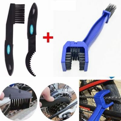 Motorcycle Bicycle Motocross Chain Dirt Wheel Cleaning Brush Motorbike Cleaner