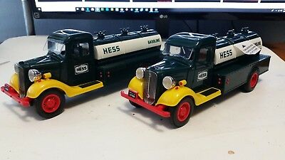 CRAZY 1/2 PRICE SALE 198283 & 1985 The First Hess Truck toy collectible Gas Oil