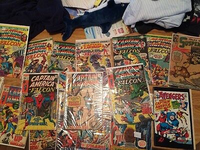 Captain America Lot Spider-Man Hulk Silver Bronze Age Run Iron Man Cgc It Nr