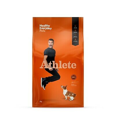 Healthy Everyday Pets by Pete Evans Grain Free Dry Dog Food - Athlete 12kg