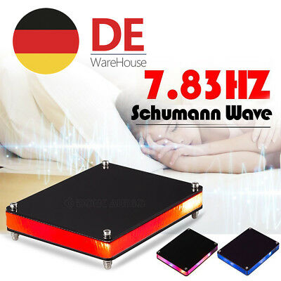 NEW Schumann Wave 7.83HZ Pulsgenerator Low Frequency Mini Schwarz for Sleep/Work