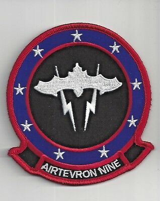 Patch Navy Usn Airtevron Nine Vx-9 F/a-18 Vampires Full Color 4 1/4""