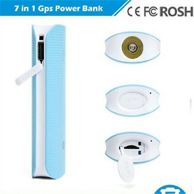 GPS Tracker RF-V20 with GSM Tracking Registrar and 4500mAh Power Bank LED Light